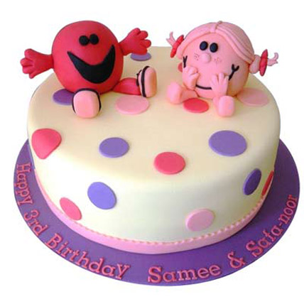 Twin Colorful Cake 4kg