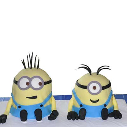 Two Minions Cake 4kg
