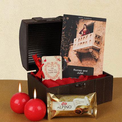 Valentine Gifts In Treasure Box