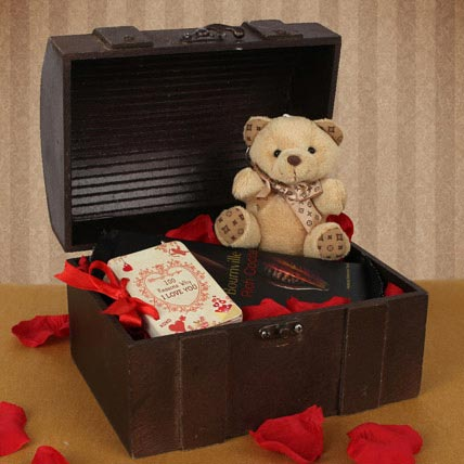 Valentine Treasure Box