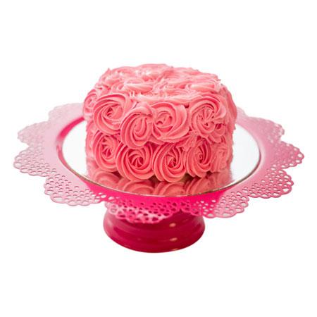 Vanilla Rose Cake Half kg