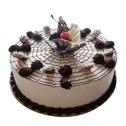 Web Of Happiness Cake Half kg Eggless