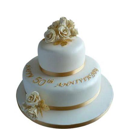 Wedding cake 4kg Eggless
