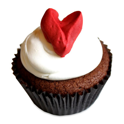 With Love Cupcakes 6 Eggless