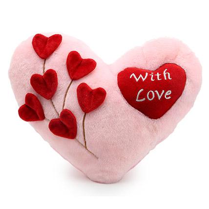 With Love Cushion