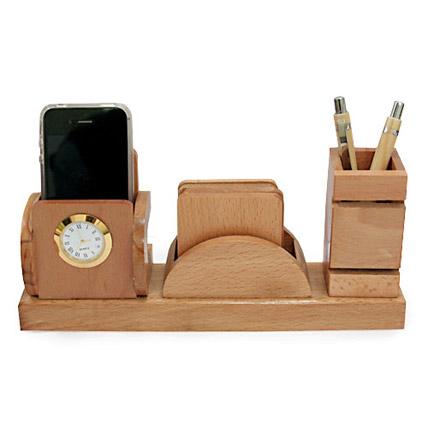 Wooden Organizer Set