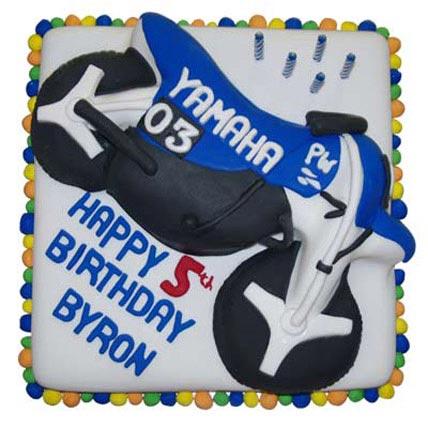 Yamaha Theme Cake 2kg Eggless