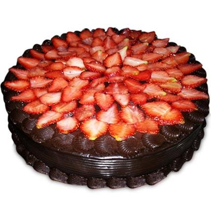 Yummilicious Strawberry Delight Cake 1kg Eggless