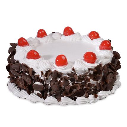 Yummy Black Forest Cake 1kg Eggless