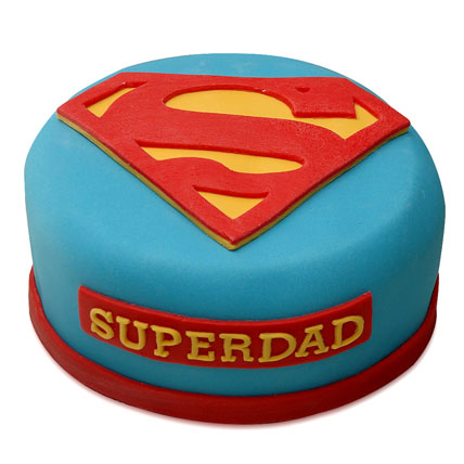 Yummy Super Dad Special Cake 1kg Eggless