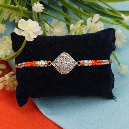 American Diamond Premium Rakhi LEB