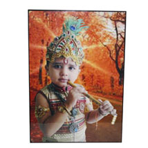 6x8 Personalized Mounted Photo Print: Send Personalised Photo Frames - Rakhi