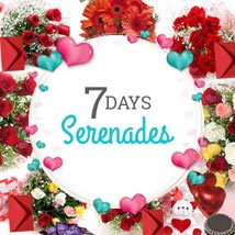 7 Days Valentine Week full of Love: Valentines Day Flowers & Cakes