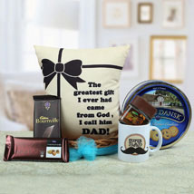 A Yummy Treat for Daddy: Gift Baskets to Chennai