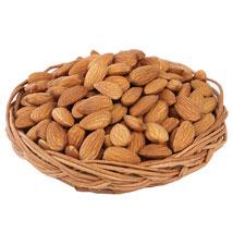 Almonds Basket: Christmas Gift Baskets