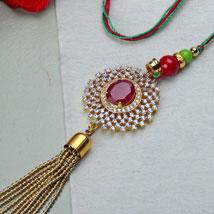American Diamond Lumba: Send Lumba Rakhi
