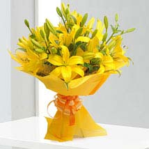 Asiatic Lilies Send Flowers