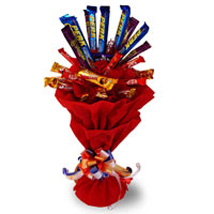 Assorted Chocolates Bouquet: Karwa Chauth Gifts Jalandhar