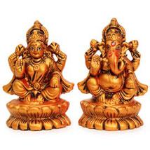 Auspicious Lakshmi Ganesha Statues: Laxmi Ganesh Gifts