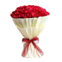 Authentic Love 100 Roses: Flower Bouquets
