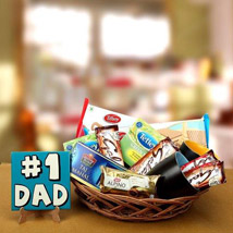 Basket Full Of Love: Send Fathers Day Gift Hampers