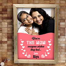 Best Mom Personalized Frame: Personalised Gifts Moradabad