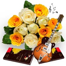 Blissful Notes: Send Flowers & Chocolates for Chocolate Day