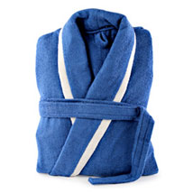 Blue and White Bathrobe For Him: Romantic Gifts for Birthday