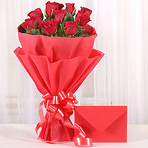 Bouquet N Greeting Card: Send Flowers & Cards to Kolkata