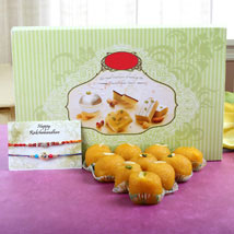 Bring Happiness: Rakhi With Sweets Mohali