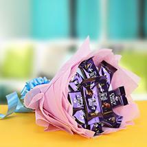 Cadbury Dairy Milk Chocolates Bouquet: Thank You Chocolates
