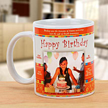 Cheers On the Birthday: Send Personalised Mugs for Her