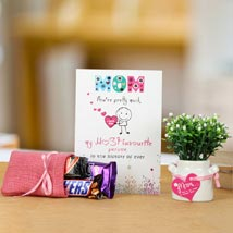 Cherished Wishes For Mom: Mothers Day Chocolates