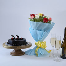Chocolate Cake and Roses: Fathers Day Gifts