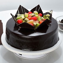 Chocolate Fruit Gateau: Diwali Gifts for Teacher