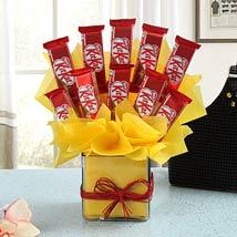 Chocolate Treat: Chocolate Bouquet