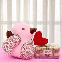 Connect With Love Hamper: Ferrero Rocher Chocolates