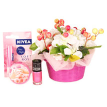 Cosmetic For Gorgeous Moms: Cosmetics & Spa Hampers - Birthday