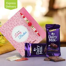Dairy Milk And Rakhi Wishes: Rakhi Gifts  for All Siblings