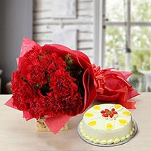 Delectable Taste:  Flowers & Cakes for Womens Day