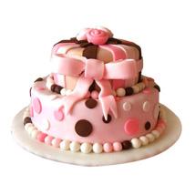 Elegant Pink Cake