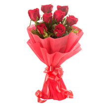 Enigmatic Red Roses: Send Roses to Noida