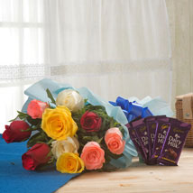Flowerly Song: Flowers & Chocolates for Mothers Day