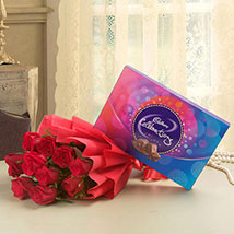 Flowery Celebrations: Send Flowers & Chocolates to Faridabad
