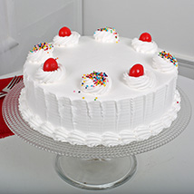 Fresh Vanilla Cake: Send Birthday Cakes to Ambala