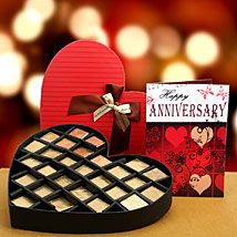 From the Bottom of the Heart: Anniversary Chocolates