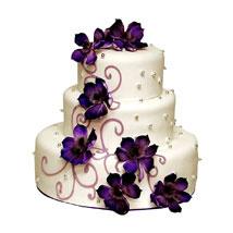 Glamorous Wedding Cake: Multi Tier Cakes