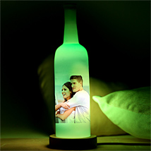 Glowing Love Personalized Lamp: Send Personalised Gifts to Mau