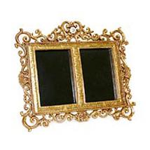 Golden 2 in 1 frame: Thank You Photo Frames
