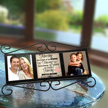 Happy Family Personalized Frame: Mothers Day Photo Frame Gifts